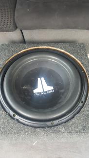 Jl audio 12 inch sub in box