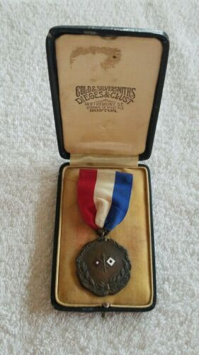 Teens Boy Scouts of America Dieges & Clust Signaling Contest Medal Award BSA