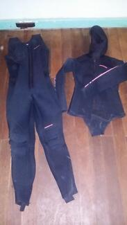 Moray scuba two piece wetsuit size 14 - 7mm