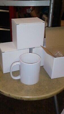 1x Plain White China Good Size Mug.. Value in bulk buying