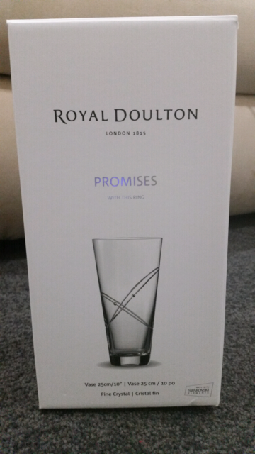 Royal Doulton Crystal Vase Vases Bowls Gumtree Australia
