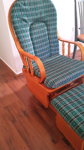 Rocking chair with foot stool - Be quick! Emu Heights Penrith Area Preview