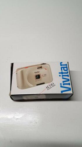 Vivitar IC101 Panorama 35mm Focus Free Camera in Original Box w/Instructions