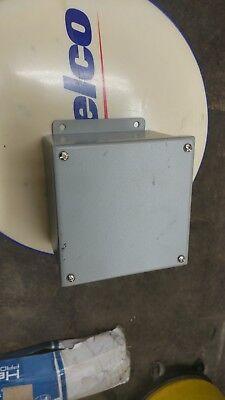 Weatherproof Junction Box Enclosure 6 X 6 X 4 Wiegmann Part B060604sc