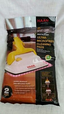 HAAN MF-2P Pink Microfiber Cleaning Pads 2 pak FS-20 FS-30 FS-50 New sealed for sale  Saint Paris