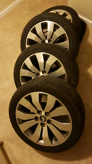 Statesmam wheels pre drilled to suit early commodore