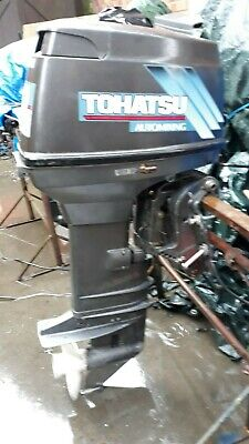 TOHATSU 40HP OUTBOARD ENGINE WITH ELECTRIC TRIM TILT AND REMOTES