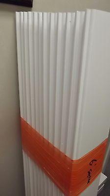 White Vinyl PVC Privacy Fence PICKET 62