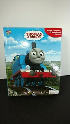 """""""Thomas & Friends My Busy Book"""" Includes A Storybook, & 10 Figurines"""