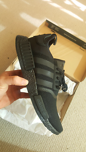 Adidas NMD R1 Triple Black Boost, 8.5, 9.5 or 11.5US, BNIB DS South Melbourne Port Phillip Preview