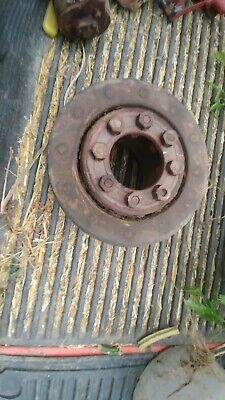 Ih Farmall Tractor Belt Pulley H M Super Md Mta 9.5 Inch