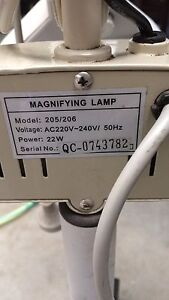 Magnifying lamp/beauty salon supplies East Maitland Maitland Area Preview