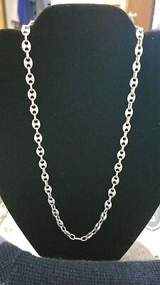 Gucci link sterling chain
