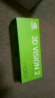 NEW Nvidia 3D Vision 2 Wireless Glasses for gaming / pc 3dtv