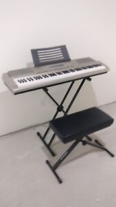 Casio Piano + Stand and Seat