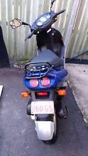 Sym Red Devil (BLUE) perform muffler / Scooter 50cc safety cert Noosaville Noosa Area Preview