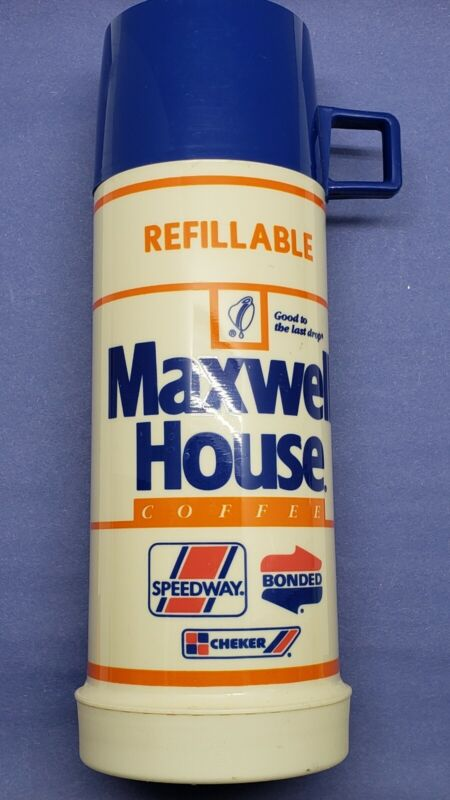Vintage NEW 1985 Maxwell House Coffee Thermos NEVER USED!!