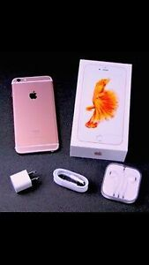 Apple iPhone 6s Plus rose gold 3 weeks old ROGERS