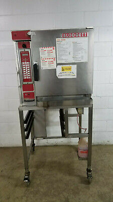 Blodgett Xl50ec Electric Convection Oven On Stand Tested 208 Volt 3 Ph Tested