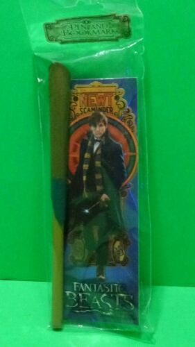 Fantastic Beasts Newt Scamander Wand Pen and Bookmark