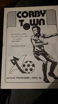 Corby Town V Bromsgrove Rovers 08/04/78
