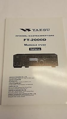 Haynes Manual Italian Original Instructions D' Use for Yaesu FT-2000D for sale  Shipping to United Kingdom