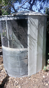ROUND AVIARY WITH SECURITY DOOR East Perth Perth City Area Preview