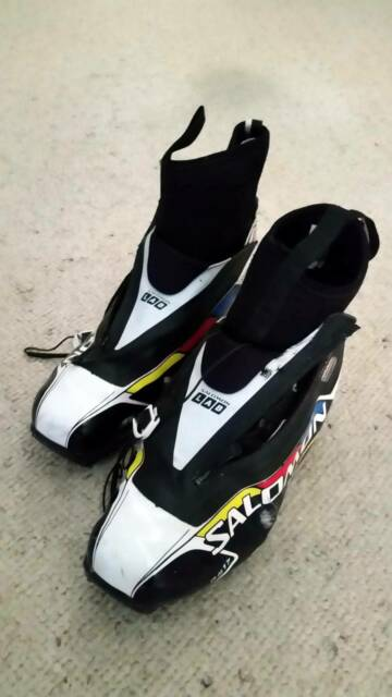 Cross Country Ski Boots Sns Pilot Size Uk10 Salomon S Lab