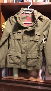 H&M Youth Cargo jacket size  9-10