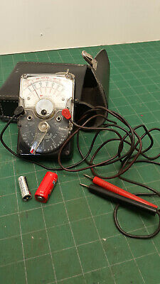 Triplett 310-c In Great Shape  Analog Multimeter- Nice With Leather Pouch