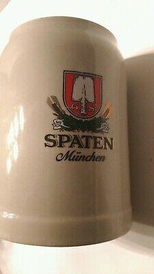 Spaten Munchen 0.5 L Beer Stein Collectible, Vintage