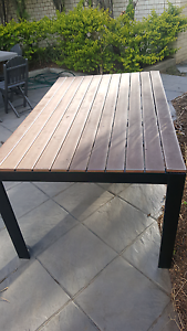 Outdoor table for deck patio bbq Carina Brisbane South East Preview