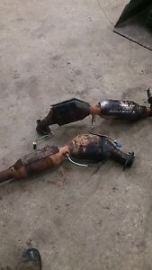 Ford catalytic converters