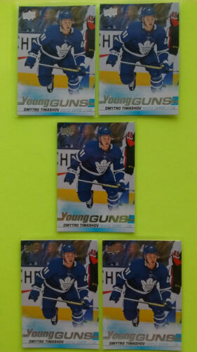 Ud 2019-20 Lot Of 5 Young Guns Yg Rookie Rc Upick