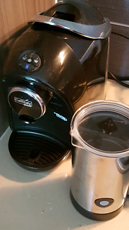 Coffee Machine and Milk Frother