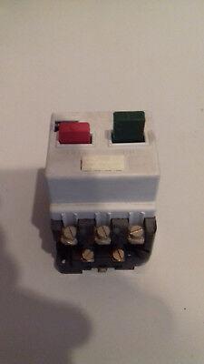 Motorschutzschalter 0,4 - 0,63 A, 2 Hilfskontakte, Siemens N3VE1010-2E