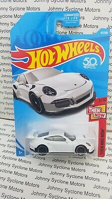HOT WHEELS PORSCHE 911 GT3 RS COUPE HW THEN AND NOW WHITE