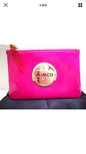 Watermelon Pink/Red small mimco pouch NEW Georgetown Newcastle Area Preview