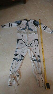 Storm Clone Trooper Lieutenant Halloween Costume Blue Star Wars size Medium - Clone Trooper Costumes