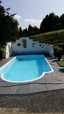 gfk schwimmbecken pool 6 00x3 00x1 50 set pooltechnik. Black Bedroom Furniture Sets. Home Design Ideas