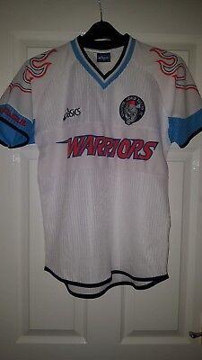 Mens Football Shirt - Warriors Singapore Armed Forces - Asics - Away 2001-2002 image