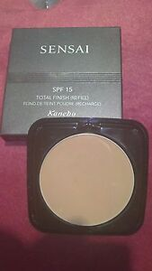 Sensai Kanebo Total Finish Foundation Refill shade TF 204.5  - Amber Beige