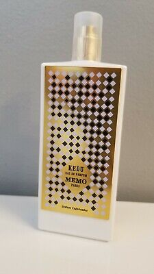 MEMO PARIS KEDU EDP TESTER 2.5oz 75ml NICHE 100% AUTHENTIC. NEVER USED!