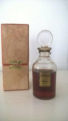 Ancien flacon de parfum Zibeline de Weil