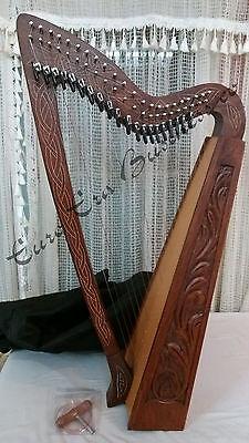 irische 22 Saiten Harfe Mit  zusätzliche Saiten mit Tasche By Euro Era