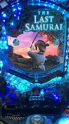 CR THE LAST SAMURAI PACHINKO MACHINE NEW FACTORY SAMPLE BEAUTY feat. TOM CRUISE