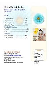 Skincare & Eye Lash Extensions