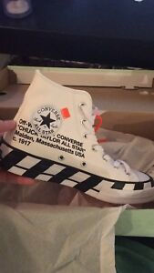 Offwhite x Converse DS size 6 and 5.5