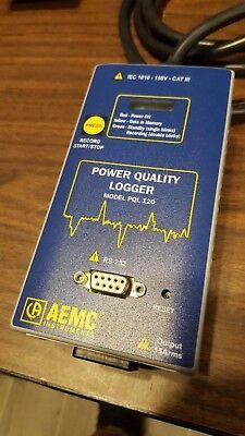 Aemc Power Quality Logger Model Pql 120 -8321