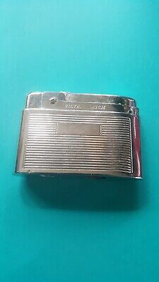 Silver Match Lighter-Vintage-Just Needs Fluid-They Don't Get Much